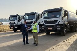 IVECO delivers 160 Trakker trucks to Phibela Industrial in Ethiopia
