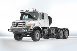 Mercedes-Benz Zetros heavy-duty truck: All-round solution